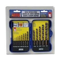 Artu - 14-Pc. HSS Drill Bit Set - $37.05