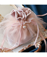 6pcs/pcs Candy Gift Bags With Pearl Baby Shower Creative Velvet Yarn Wed... - $15.35+