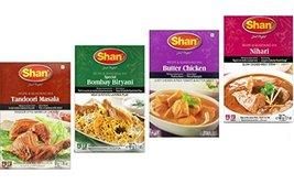 Shan Spices - Variety Pack of 4 Tandoori, Butter Chicken, Bombay Biryani, Nihari image 2