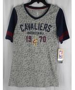 NBA Cleveland Cavaliers junior girls short sleeve throwback tee size M 7/9 - $13.87