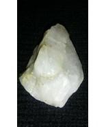 White Icy Milk Quartz Raw Specimen 1.5 X 1.25 In .75 Oz Jewelry - $4.55
