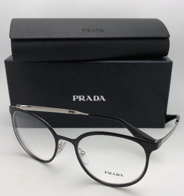 52228d33b5 New PRADA Eyeglasses VPR 53T 1AB-1O1 52-19 and 50 similar items