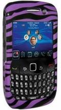 AMZER Purple Snap On Crystal Hard Belt Clip Case Cover for BlackBerry Storm 9530 - $5.94