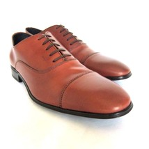 S-1937235 New Salvatore Ferragamo Remigio Leather Oxford Shoes Size US 8EE - $420.22 CAD