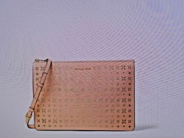 Michael Kors Ava Large Perforated Leather Convertible Clutch/XBodyBag-P... - $98.01