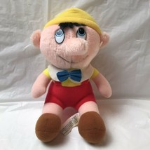 Vintage Pinocchio Plush Doll Walt Disney Productions - $15.83