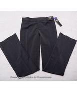 NWT LEE UNIFORMS PANTS Junior Size 3 Charcoal Trousers Boot Leg Slacks L... - $28.70