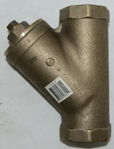 Legend Valve Two Inch Bronze Y Strainer Female NPT Ends Lead Free 105-508NL image 2