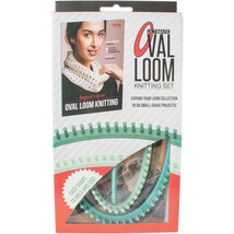 Ultimate Oval Loom, Stitching Tool & Beginner's Guide Knitting Set Tool ... - $17.56 CAD