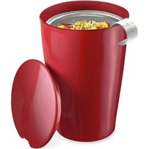 Tea Forte Kati Loose Tea Cup - Cranberry Red - 4 x 12 oz Kati Cups - $93.11