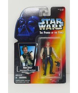 Kenner Star Wars The Power Of The Force Han Solo Action Figure - $12.34