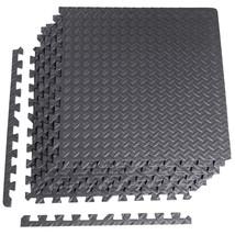 CAP Barbell 6-Piece Puzzle Exercise Mat Black 1/2 - $31.72