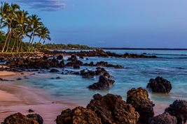 Lava Rocks at Dusk, Maui, Hawaii, Fine Art Photos, Paper, Metal, Canvas ... - $40.00