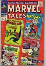Marvel Tales #7 ORIGINAL Vintage 1966 Marvel Comics Spider-Man Thor Huma... - $18.55