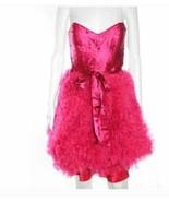 Aidan Mattox Pink Silk Tulle Satin Dress Size 4 - $168.29