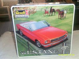 Revell /Monogram '64 Mustang Convertible  Tin Box 1:24 85-4157 - $23.50