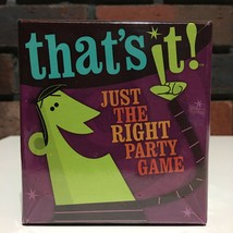 That's It! Card Game 3+ Players, Ages 10+ Gamewright 200 Cards - $15.00