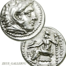 ALEXANDER the Great Rare Lifetime Issue. Ancient Greek Silver Coin Herak... - $764.10