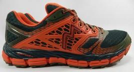 361 Degrees Santiago Men's Trail Running Shoes Sz US 11 M (D) EU 45 Orange Green