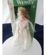 RARE 1960'S BARBIE CLONE DOLL -WENDY IN ORIGINAL WEDDING GOWN AND BOX !!! - $79.95