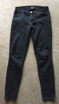 Forever 21 Black Women's Size 26 Jeans Stretch Skinny TIGHT F21 Low Rise - $8.90
