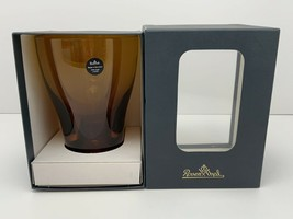 Rosenthal 12oz Amber Crystal Tumbler Memphis New In The Box Made In Germany - $34.60