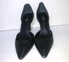 CHARLES BY CHARLES DAVID Vertrue Leather Shoes/ Pumps ~Black~ SZ 7 - $15.67