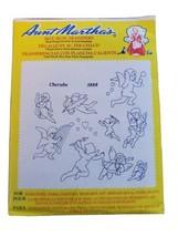 Cherubs/Cupid Aunt Martha's Hot Iron Embroidery Transfer #3888 Retired - $2.92
