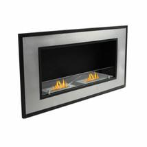 "47"" Wall Mount Fireplace Ventless Ethanol Burner Insert Stainless Steel ... - $449.98"