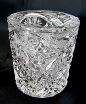 "Elegant Pressed Spooner Clear Glass 3"" T x 2½"" D  Estate - $4.87"