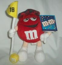 "M&M's Red Golfer Plush  8"" - $14.82"