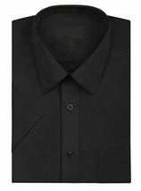 New Open Box Repackaged Men's Short Sleeve Dress Shirts Multiple Colors image 2