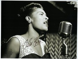 BILLIE HOLIDAY Autographed Authentic Signed Photo w/COA - 72631 - $1,125.00