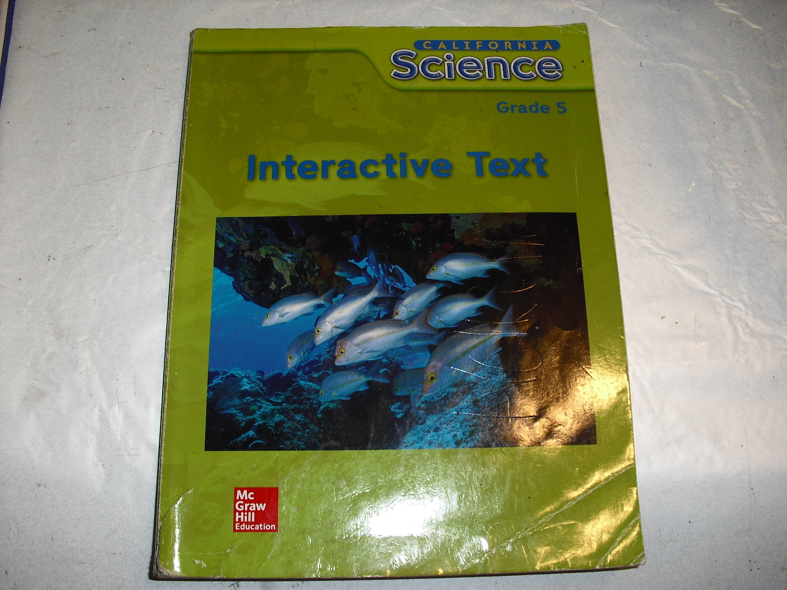 interactive  text  california  science  grade  5