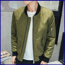 Air Force Flight Slim Short Jacket Jacket Men - $43.86