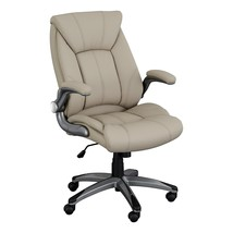 Norwood Commercial Furniture Executive Chair with Flip-Up Arms, Champagn... - $136.48