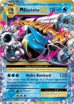 Pokemon Mega Blastoise EX XY Evolutions 22/108 Ultra Rare Regular Art Holo - $5.24