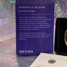 NEW IN BOX LIMITED EDITION SOLD OUT Tatcha Camellia MAGNOLIA BLOOM Lip Balm image 2