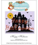 Happy Halloween cross stitch chart Sugar Stitch... - $7.00