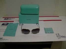 Original Tiffany & Co Tf 3026b (6048/4i) Sonnenbrille 59/14 Lila Gläser - $188.83