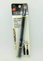 REVLON COLORSTAY Brow Shape & Glow No.250 Soft Black  - $7.95
