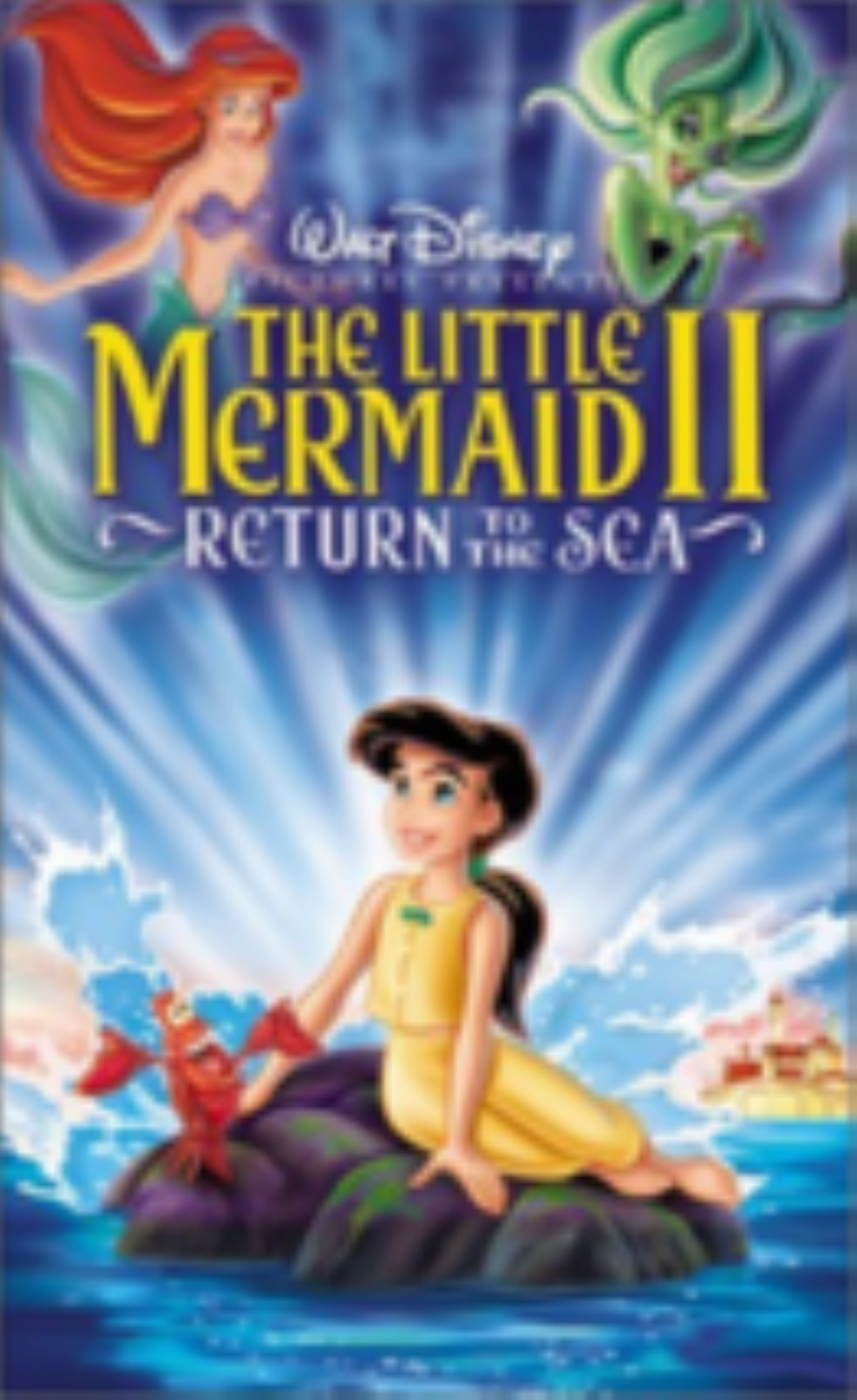 The Little Mermaid II: Return to the Sea Vhs