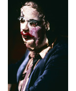 Gunnar Hansen in The Texas Chain Saw Massacre creepy skin face mask Leat... - $23.99