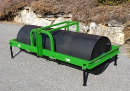 Turf Leveling Roller 8 Ft 3-Point Commercial Heavy Duty - $4,280.00