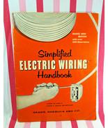 1957 Vintage Simplified Electric Wiring Handbook From Sears Roebuck and ... - $12.00