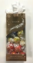 Lindt LINDOR Holiday Pinnacle Assorted CHOCOLATE Truffles Kosher 6.8 OZ Gift Box