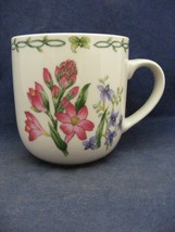 Thomson Floral Garden Mug Pink Purple Flowers - $9.95