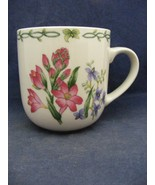 Thomson Floral Garden Mug Pink Purple Flowers - $9.95