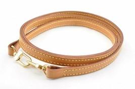 LOUIS VUITTON Leather Shoulder Strap 114cm LV Auth kh018 - $160.00