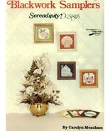Blackwork Samplers Cross Stitch Serendipity Designs Love, Floral, Shell,... - $1.77